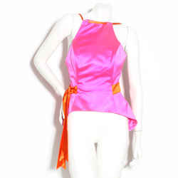 Lacroix Halter Top With Bow