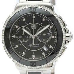 Polished TAG HEUER Formula 1 Daimond Ceramic Steel Quartz Watch CAH1212 BF514622