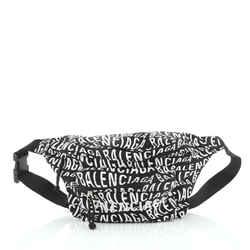 Wheel Belt Bag Printed Nylon Small