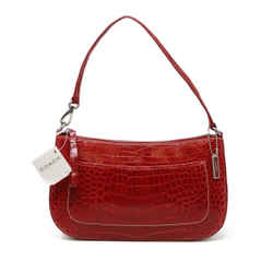 Coach Red Alligator Handbag