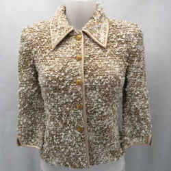 St John Tan Knit Jacket 2