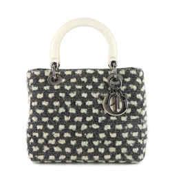 Lady Dior Tweed Handbag