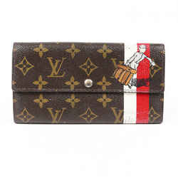 Louis Vuitton Wallet Groom Sarah Monogram Coated Cavnas