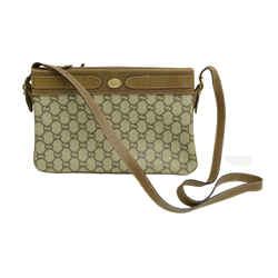 Authentic Gucci Monogram Plus Signature Vintage Guccissima Leather Canvas Small Emblem Gp Shoulder Bag