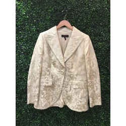 Escada Size 42/10 Cream Jackets