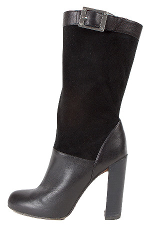 Rachel Zoe Suede And Leather Boots