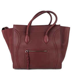 Phantom Medium Grainy Calf Leather Handbag