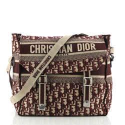 Christian Dior Diorcamp Messenger Bag Oblique Canvas