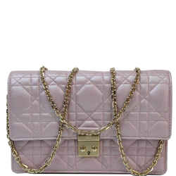 Christian Dior Miss Dior Promenade Wallet On Chain Crossbody Bag