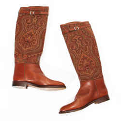 Etro Paisley Boots