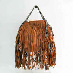 Stella McCartney Fringe 371223 W9645 Women's Polyester,Suede Handbag,Sh BF527746