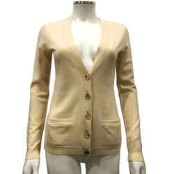 Ralph Lauren Ivory Cardigan Buttoned Sweater Size Small