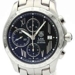 Polished Tag Heuer Link Stardust Chronograph Ltd Edition Watch Cjf211n Bf511646