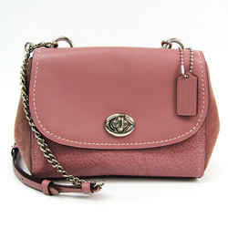 Coach Mixed Material Faye Crossbody F22349 Women's Leather Shoulder Bag BF521274