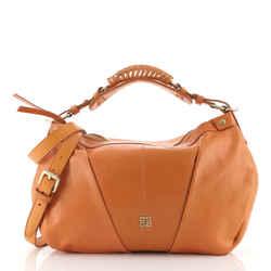 Convertible Zip Hobo Leather Medium