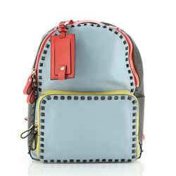 Rockstud Backpack Leather Medium