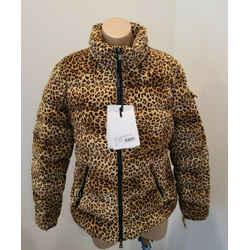 Moncler Bady Giubbotto Animal Print Moncler Jacket - Size 4 - $2025.00 - Nwt