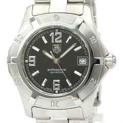 Polished TAG HEUER Professional 200M Steel Quartz Unisex Watch WN1210 BF528704
