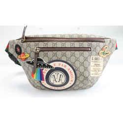Gucci Natural Courrier GG Supreme Belt Bag