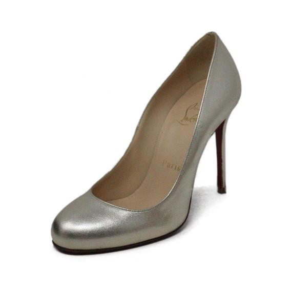 Christian Louboutin Metallic Gold Heels sz 36