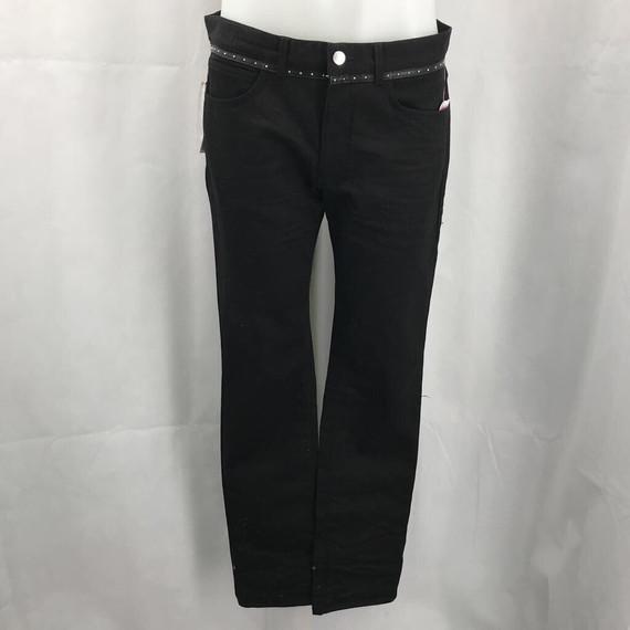 Versace Black Denim Jeans 34