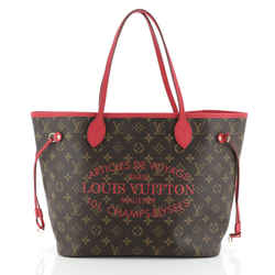 Neverfull Tote Limited Edition Ikat Monogram Canvas MM