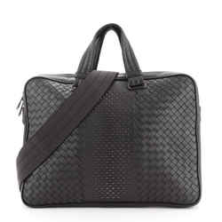 Convertible Zip Briefcase Studded Intrecciato Nappa Large