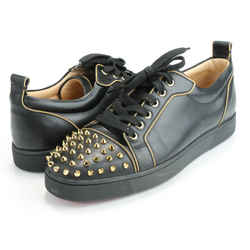 Christian Louboutin Junior Zip Leather Sneakers