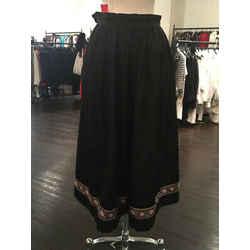 Yves Saint Laurent Size 38 Black Full Skirt Vintage - 2217-2-6819