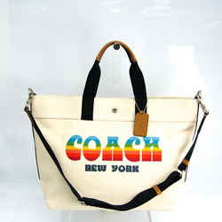 Coach EXTRA LARGE TOTE WITH RAINBOW COACH ANIMATION F72848 Unisex Canva BF519238