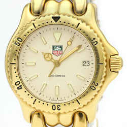 TAG HEUER Sel 200M Gold Plated Quartz Mens Watch S94.713 BF516315