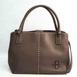 Tory Burch Women's Leather Handbag,Shoulder Bag Grayish BF536043