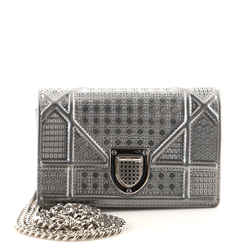 Diorama Flap Bag Cannage Embossed Calfskin Baby