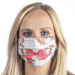 HERMES Vintage Farandole Scarf Face Mask