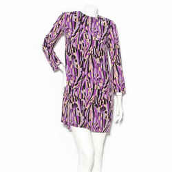 Missoni Silk Geometric Print Dress