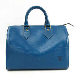 Louis Vuitton Epi Speedy 25 M43015 Women's Handbag Toledo Blue Bf509957