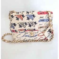 Chanel Printed Mini Coco Cambon Graffiti Mini Shoulder Bag 2005