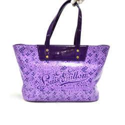 Louis Vuitton Cosmic Blossom Purple PM Vinyl Tote Bag-Limited Ed LT731