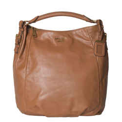 Prada Soft Calf Hobo Handbag