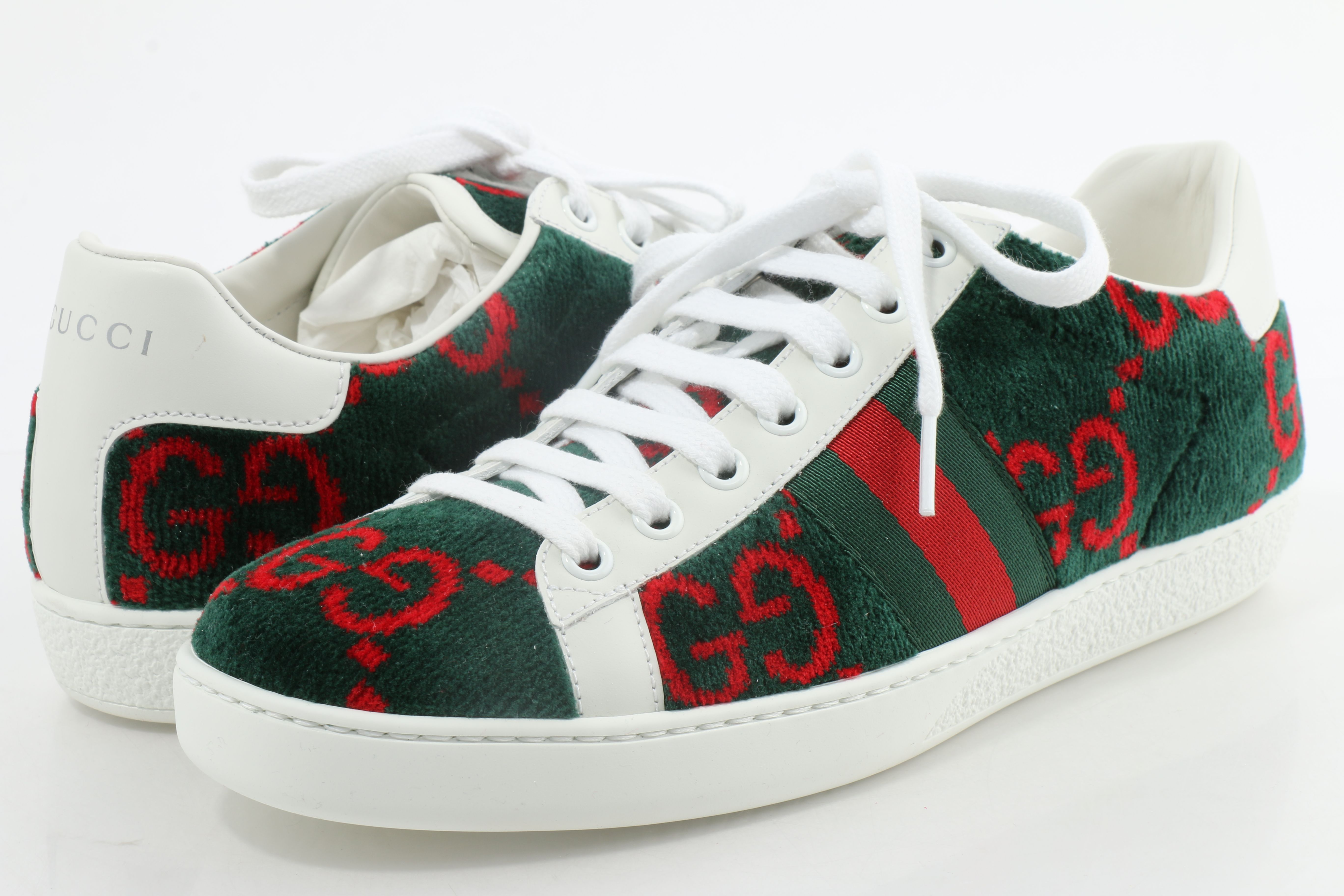 Gucci Women's GG Terry Cloth Ace