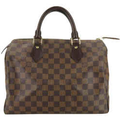 Louis Vuitton Damier Ebene Speedy 30 with Lock and Keys 860628