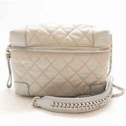 Chanel Limited Edition Silver Crossbody Camera Bag 2017