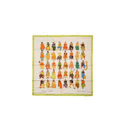 Hermes Colour Masala 90 Cm Silk Scarf