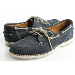 Jimmy Choo Danby Glitter-Suede Boat Shoes
