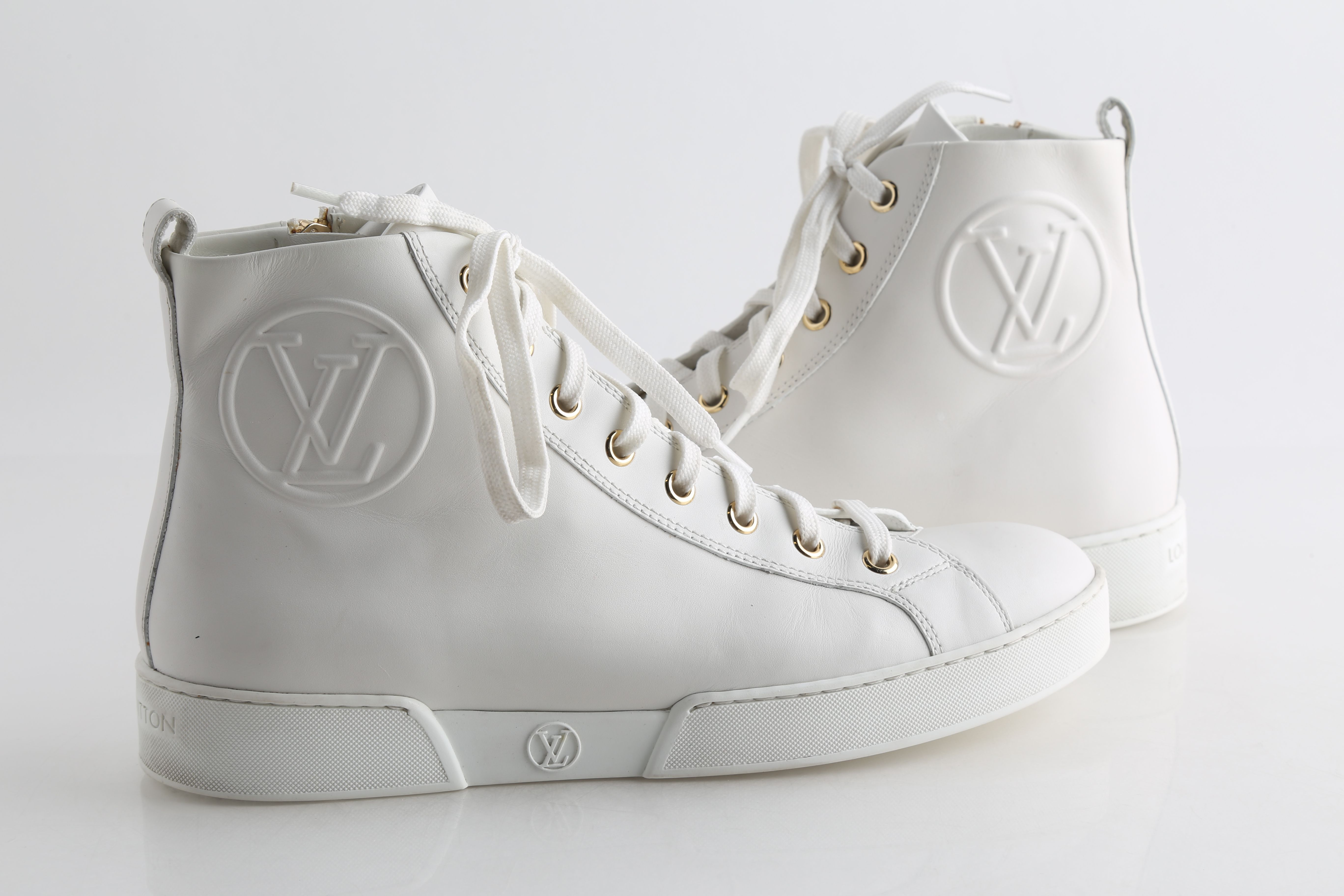 Louis Vuitton Stellar Leather Trainers