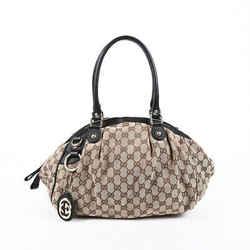 Gucci  Sukey Bag Medium Brown GG Monogram Canvas