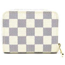 Louis Vuitton Damier Azur Square Zip Around Wallet