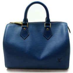 """""""Louis Vuitton Blue Epi Speedy 30 Boston MM 861055 """""""