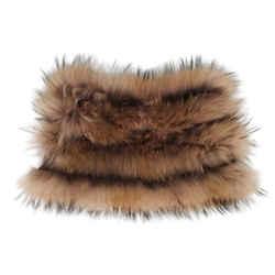 Racoon Fur Scarf