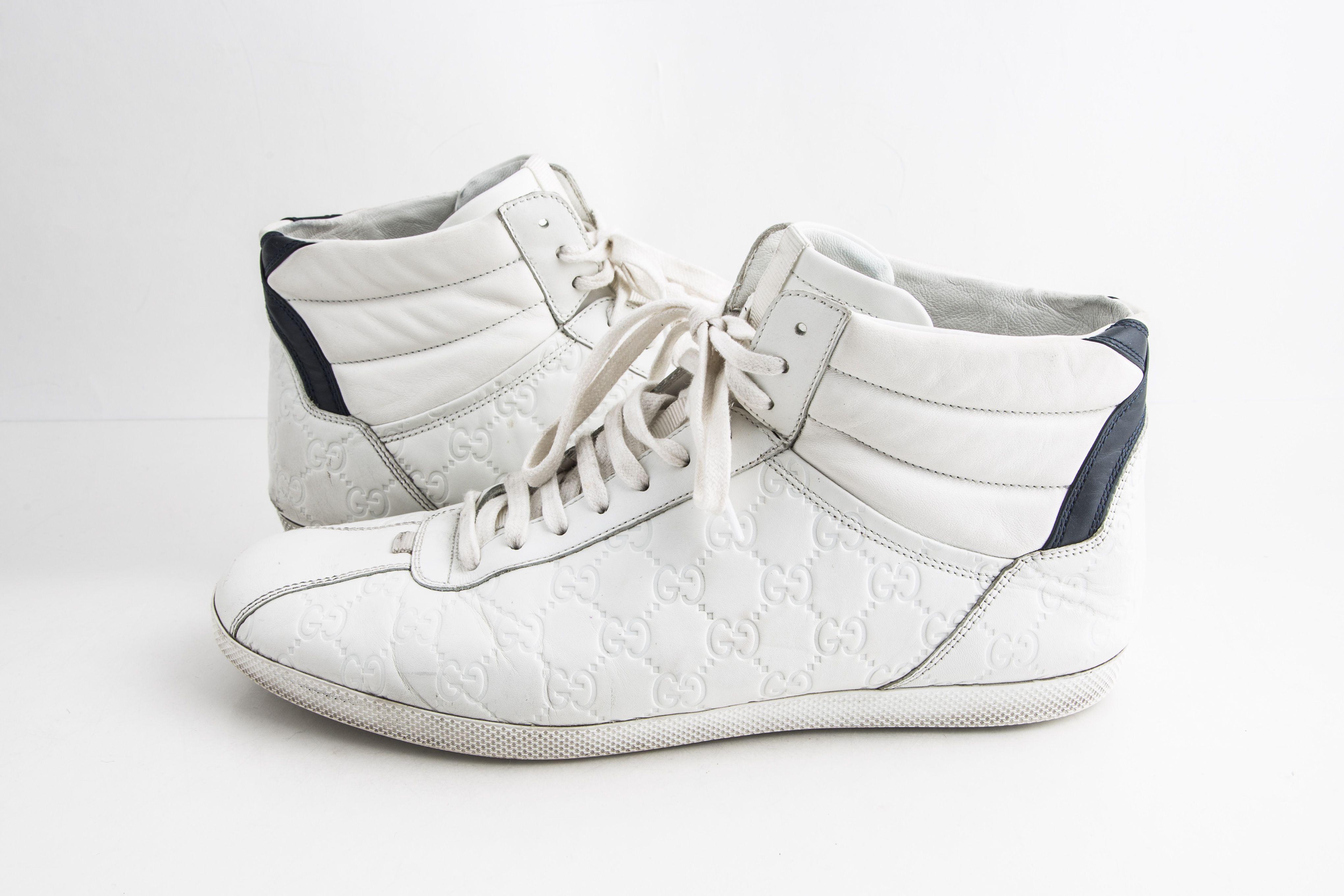 Gucci White Signature High-top Sneaker
